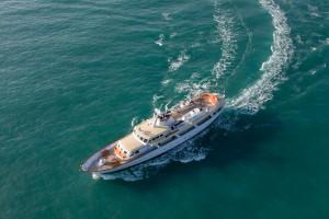 High seas on the Highlander