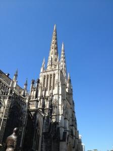 Shining spires