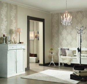 Classic Silks Wallpaper from Galerie Wallcoverings