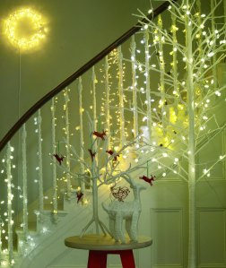 Shimmy up your home. Lights from Habitat