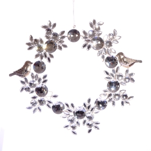 Silver decorations by Joanna Wood