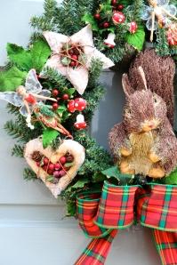 Woodland Wreath Close up 2