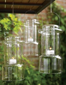 Glass Candle Holder from Home Arama
