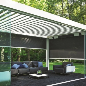 Outdoor Room at Garden House Design