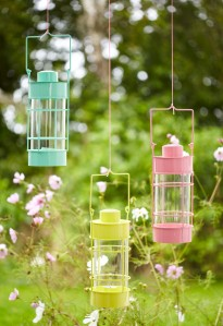 Tesco Round Glass Lanterns £10 each