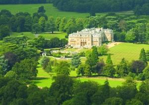 LH Mansion aerial