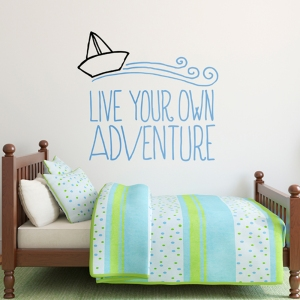 Adventure Wall Sticker