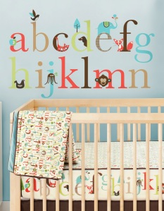 Alphabet Zoo stickers from Peanut and Pip