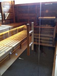 Sauna scene