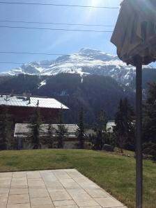 Mountain terrace