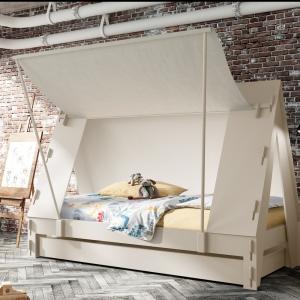 Tent bed cream