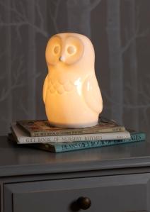 White Owl lamp at White Rabbit England