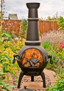 Chiminea at White Stores