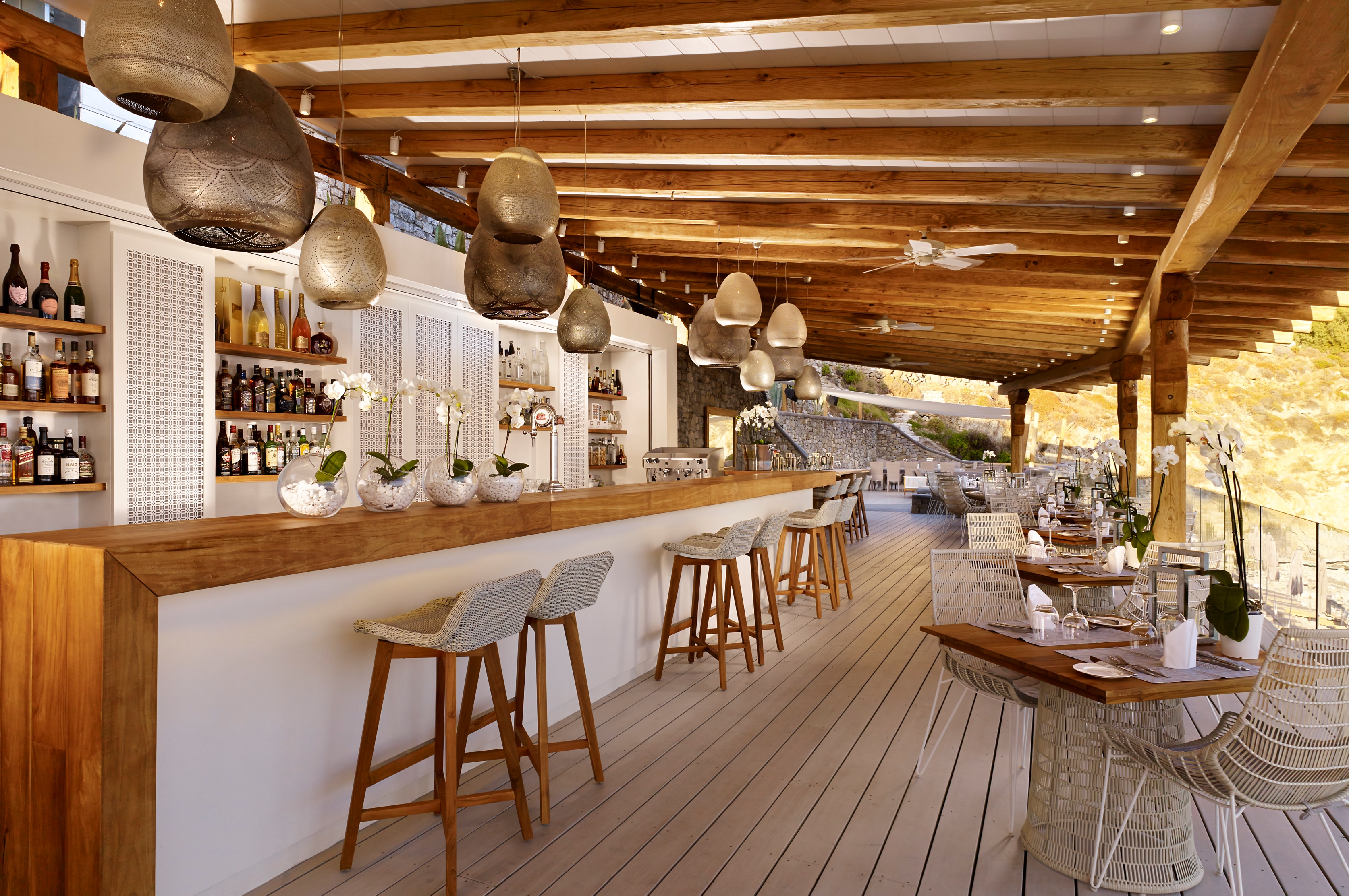 Legendary mykonos comes to life at the santa marina resort