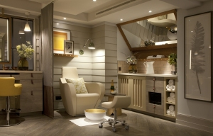 Pedicure station in Nail Parlour
