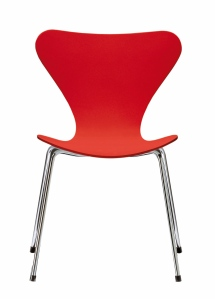 Red Seven Chair at Tomas