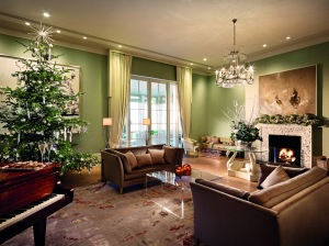 Drawing Room Christmas- Coworth Park 2