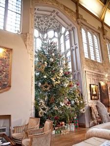 Fawsley Hall - Christmas Tree Grand Hall