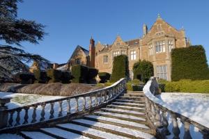 Fawsley Hall - Snowy Exterior