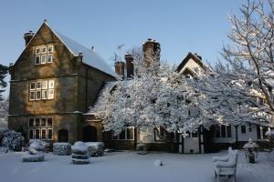 Ockenden Manor - winter exterior
