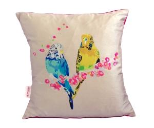 Loving Budgies Cushion_£55_lukuhome.com