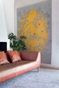 Wendy Morrison Mandela Moon rug