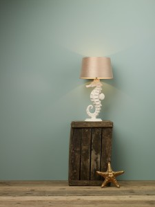 Ammonite table lamp