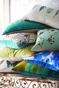 Amazilia cushions by Harlequin