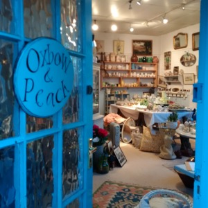 Oxbow and Peach vintage store