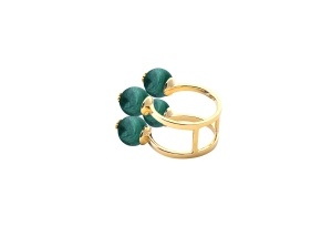 4stone ring2 malachite