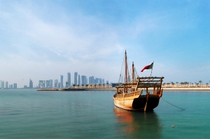 View of Qatar