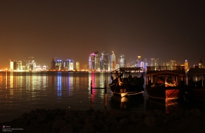 Doha Towers Night QTA