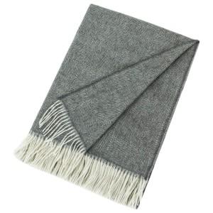 Herringbone Baby Alpaca Blanket - £149
