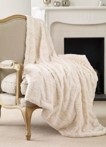 Marilyn Throw, Cream