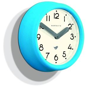 Newgate Aqua Blue Pantry Clock_£30_daisypark.co.uk