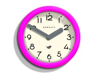 Newgate Hot Pink Pantry Clock_£30_daisypark.co.uk