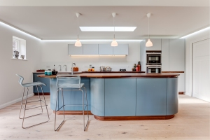 Walnut Natural Sheer by Tomas Kitchen Living
