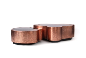 Copper furniture from Touched Interiors