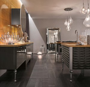 Luxury Glam kitchen at By Design