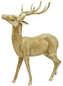 9507_Misc_-_Large_metal_Gold_Deer_Hi_Res_Jpeg