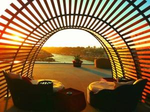 The yeatman sunset