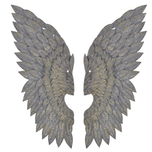 Out There Interiors - Ferlet Pair of Wings Wall Decoration, £155