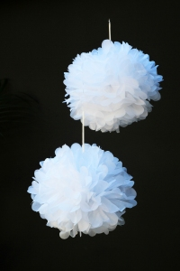 RockettStGeorge_White_Flower_Paper Decoration