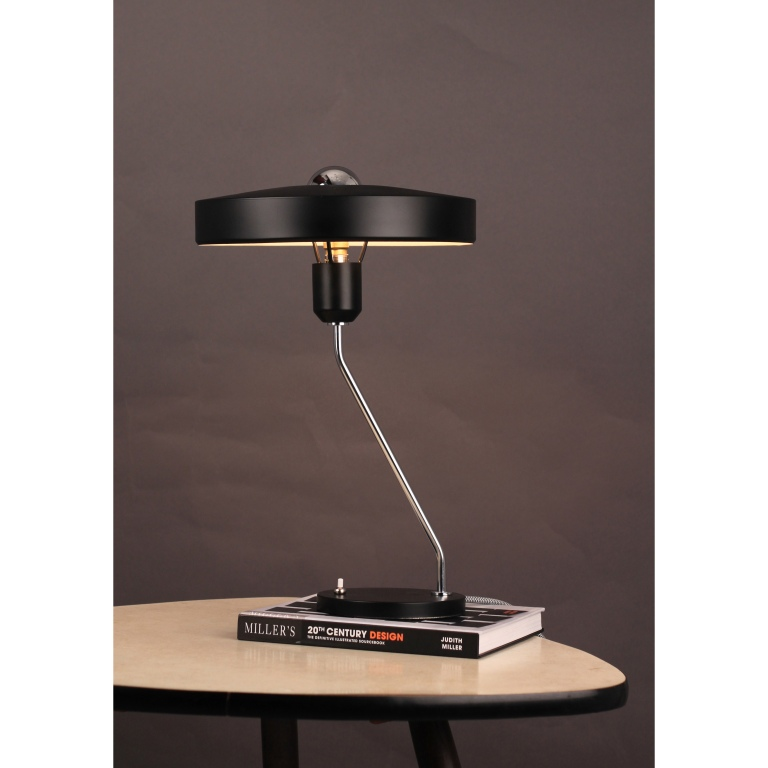 1950's Black Desk Lamp