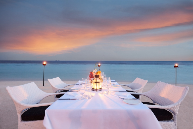 Amari Havodda Maldives Beach Dining
