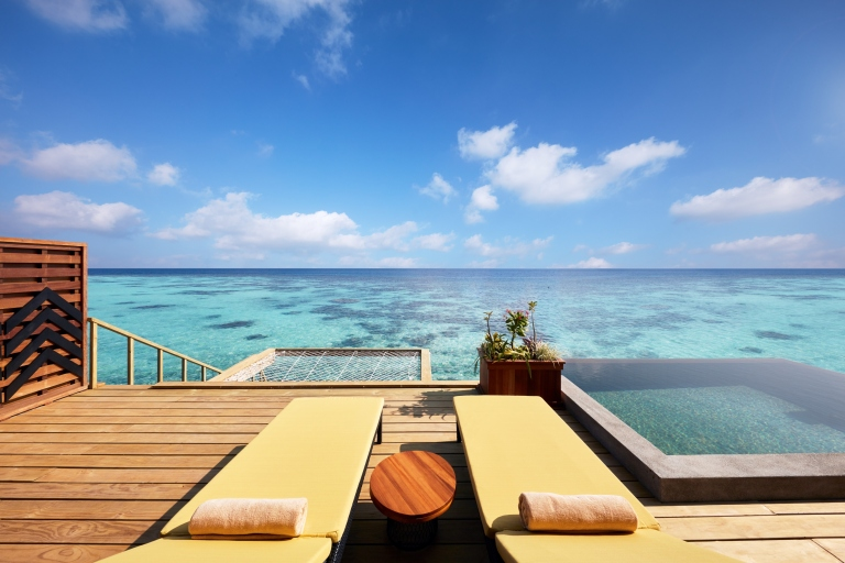 Amari Havodda Maldives Overwater Pool Villa Terrace 3