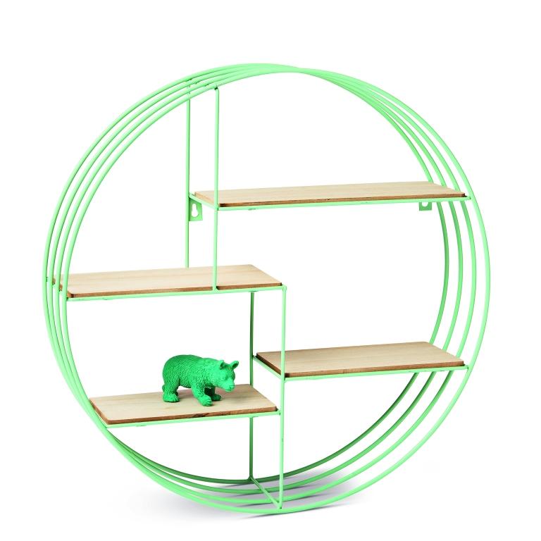 Circular Shelf 5, £12, uk.flyingtiger.com, 1003462