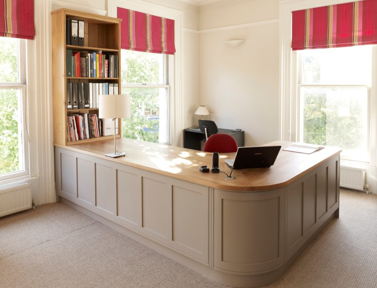 Hand Painted Home Office 001