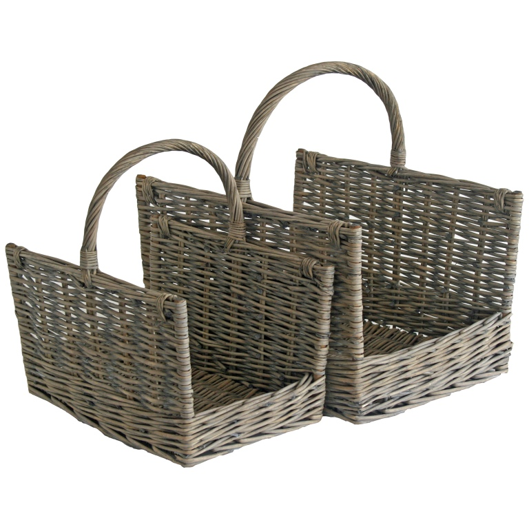 grey-wicker-log-baskets