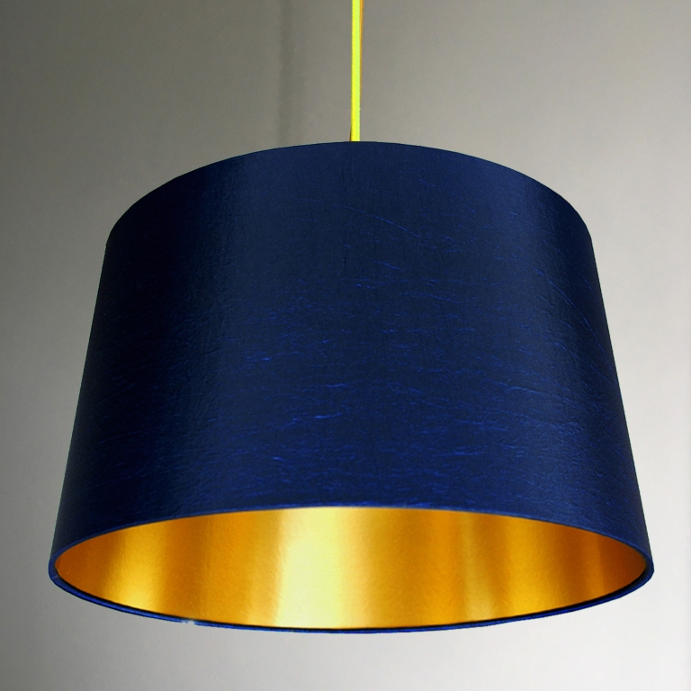 french-drum-lampshade-in-midnight-blue-with-gold-lining